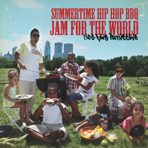 "Album Cover for ""Summertime Hip Hop BBQ Jam For The World"" by SEE MORE PERSPECTIVE"